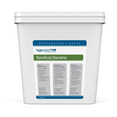 Aquascape 30407 - Beneficial Bacteria Concentrate Contractor Grade (Dry) - 9 lb