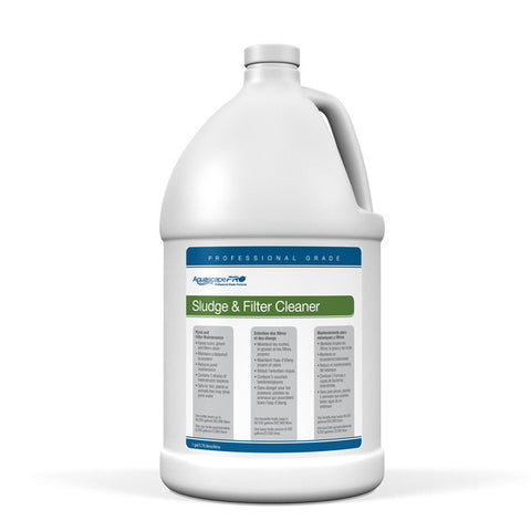 Aquascape 30408 - Sludge & Filter Cleaner Contractor Grade (Liquid) - 1 gal