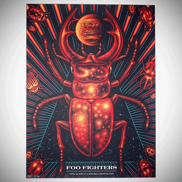 Foo Fighters - space scarab