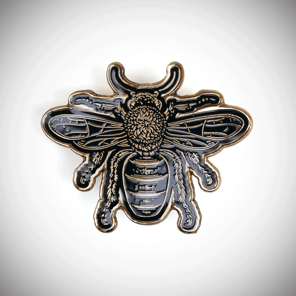 Apiology - bee pin to 200