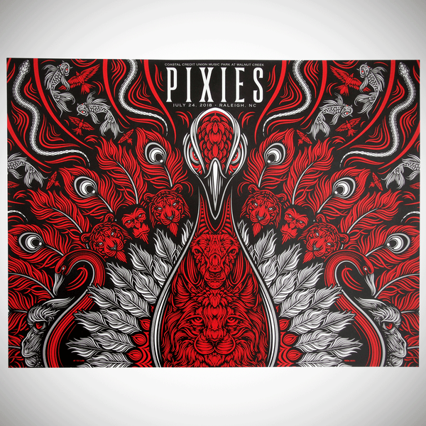 1 left - minor edge damage will frame out - Pixies - NC