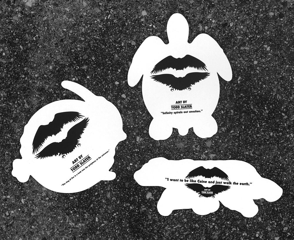 Sticker set - Caine, Turtle and Marlin