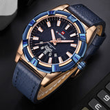 2018 NEW NAVIFORCE Luxury Brand Men's Quartz Watches Men Fashion Casual Leather Sports Watch Man Date Clock Relogio Masculino - Free Wear USA