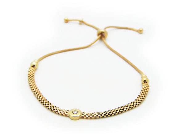 Gold Popcorn Chain Bracelet - Free Wear USA