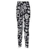 TOIVOTUKSIA Women Leggings Pantalones Black Milk Print Leggings Summer Style Soft Skin Material Nine Women Leggins