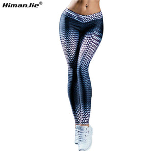 Maxfit 3D Digital Smoke Print legging