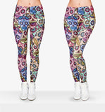 New Sugar Skull Legging - Free Wear USA