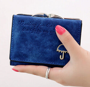 Flying birds! Women Wallets short dollar price Leather Wallet Clutch leather purse women bags high quality credit card LM3217fb - Free Wear USA