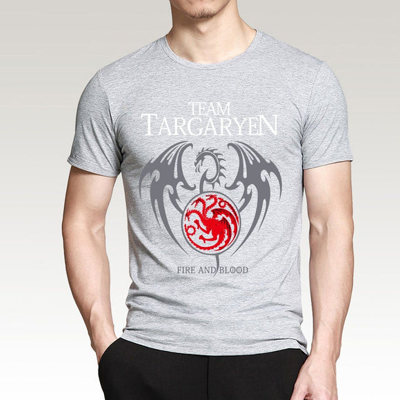 Targaryen Fire & Blood Men's T-Shirt - Free Wear USA