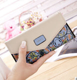 FLYING BIRDS wallet for women wallets brands purse dollar price printing designer purses card holder coin bag female LM4163fb - Free Wear USA