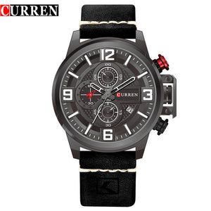 2017 Curren Watches Men Brand Luxury Military Analog Quartz Watch Men's Fashion Sport Wristwatches Male Clock Relogio Masculino - Free Wear USA