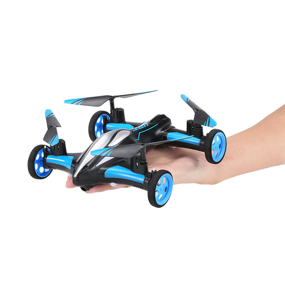 2.4G 4CH 6-Axis Gyro Air-Ground Flying Car RC Drone Quadcopter With 3D Flip One-key Return Headless Mode - Free Wear USA