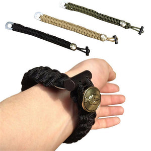 Retro Outdoor Survival Bracelet Travel Kits Paracord Gear - Free Wear USA