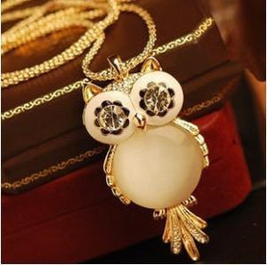 Owl Necklace - Free Wear USA