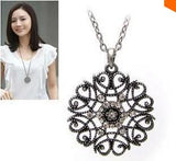 Hollow Flower Long Necklace - Free Wear USA