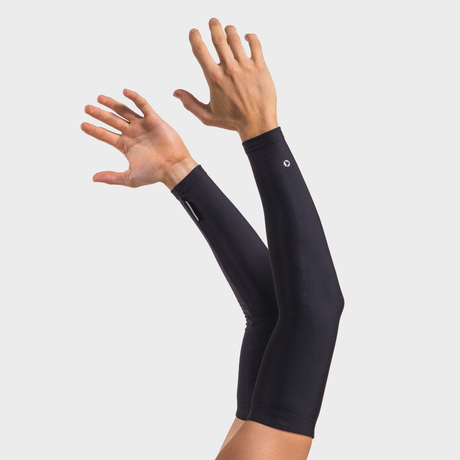 Black Thermal Arm Warmers