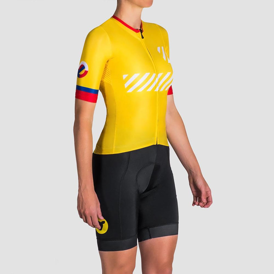 Black Sheep x Colombia Women Yellow Jersey