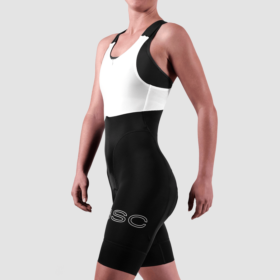 Women's WMN Body Bib - White