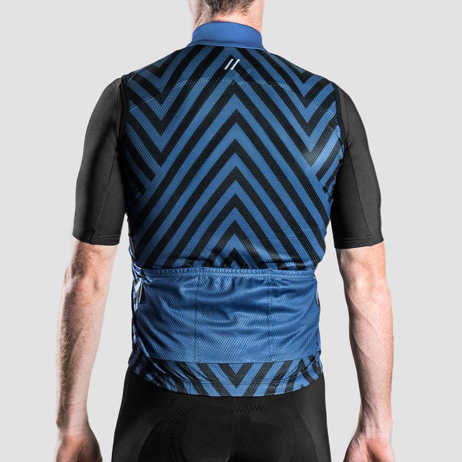 Euro Collection Mens Ardesia Graphic Gilet