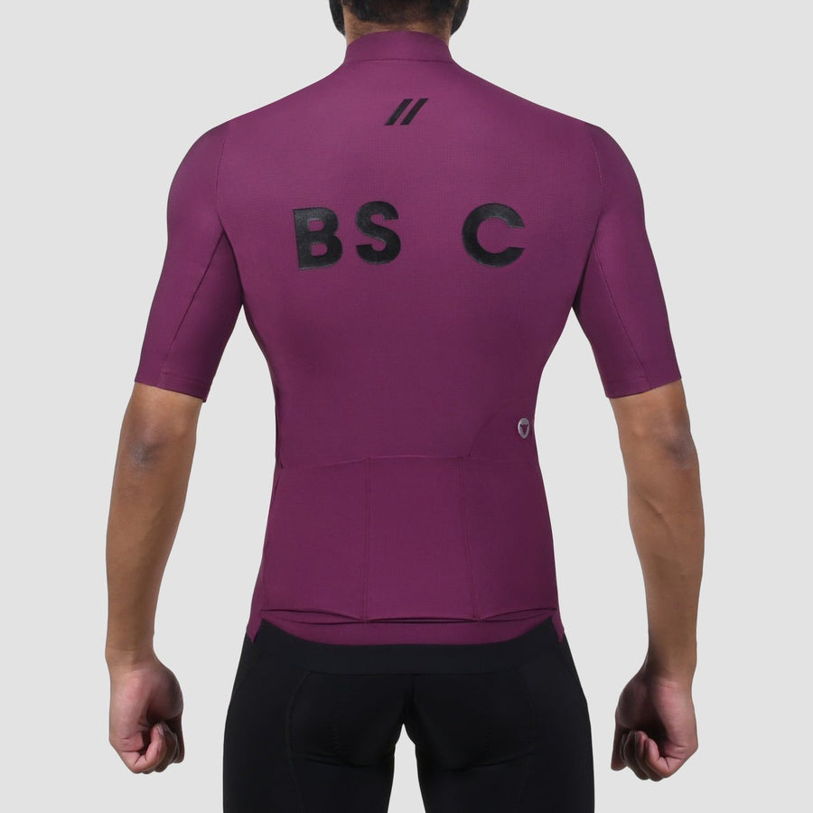 Men's Elements Thermal SSJersey - Plum