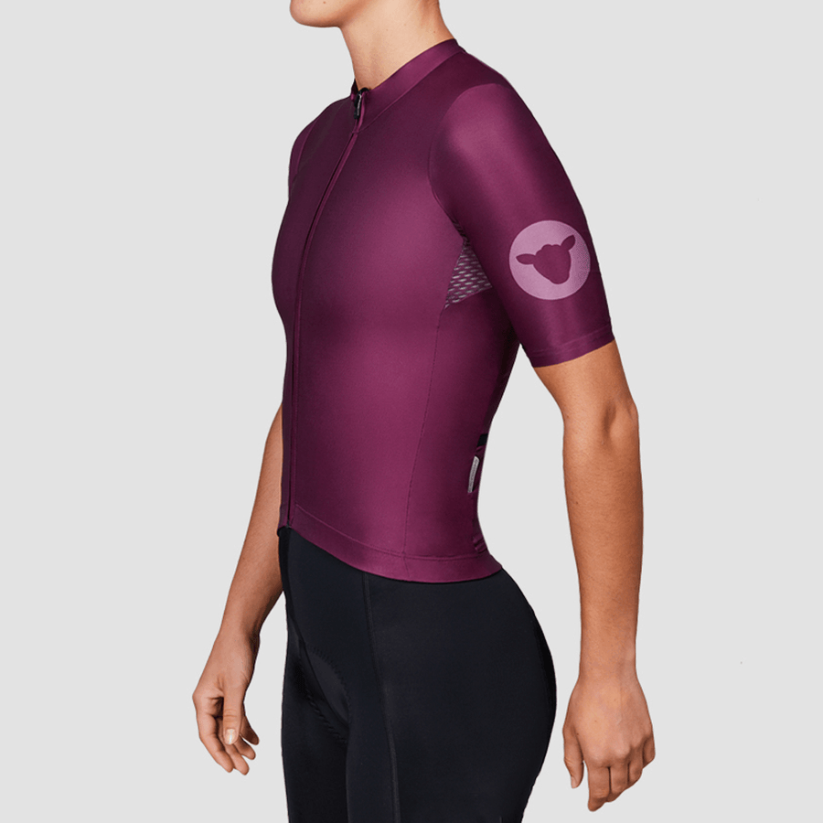 Women's TC19 Block Jersey - Plum