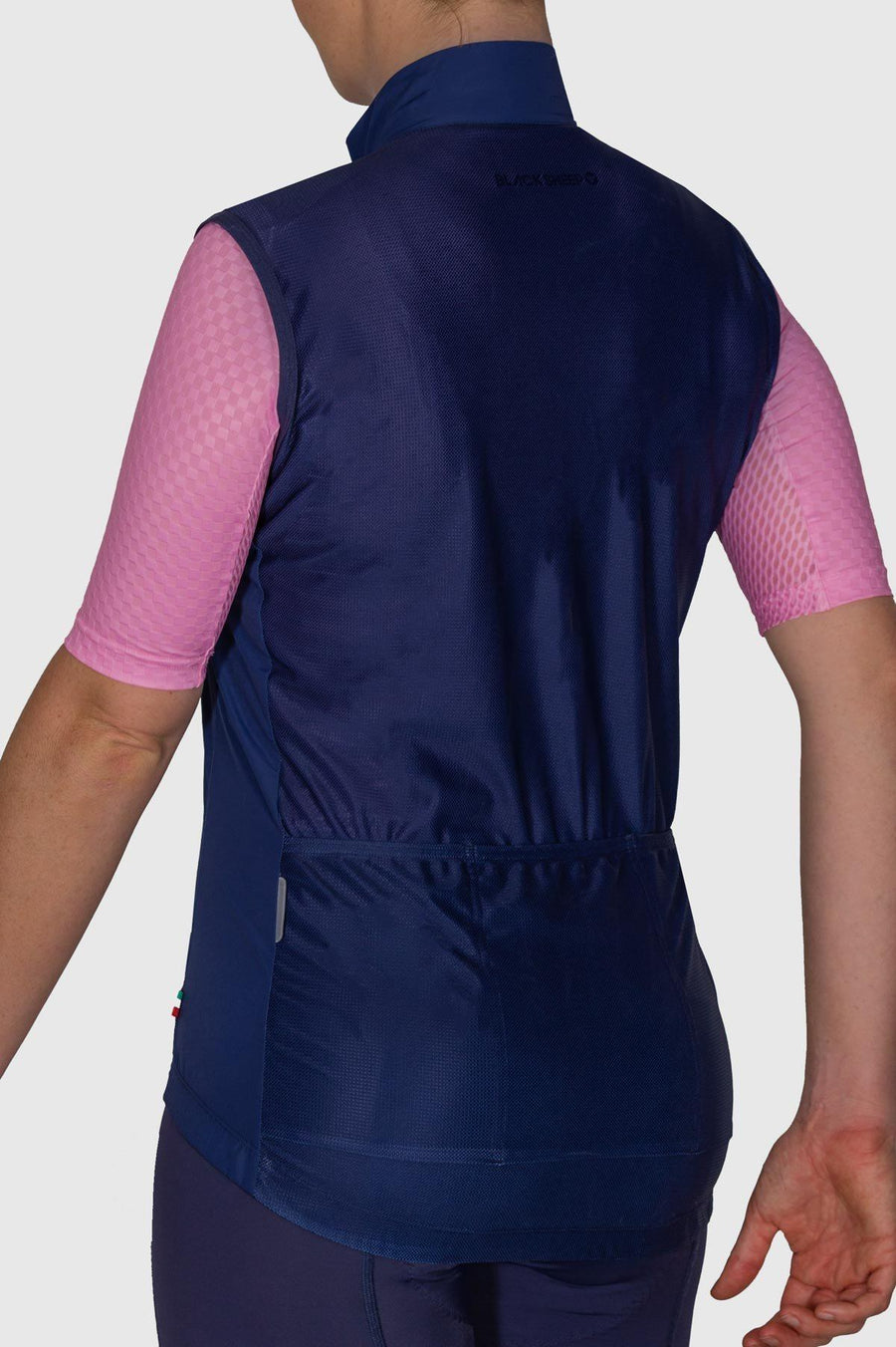 Euro Collection Women's Navy Wind Vest