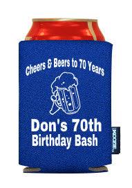 Cheers and Beers Birthday party favor ideas