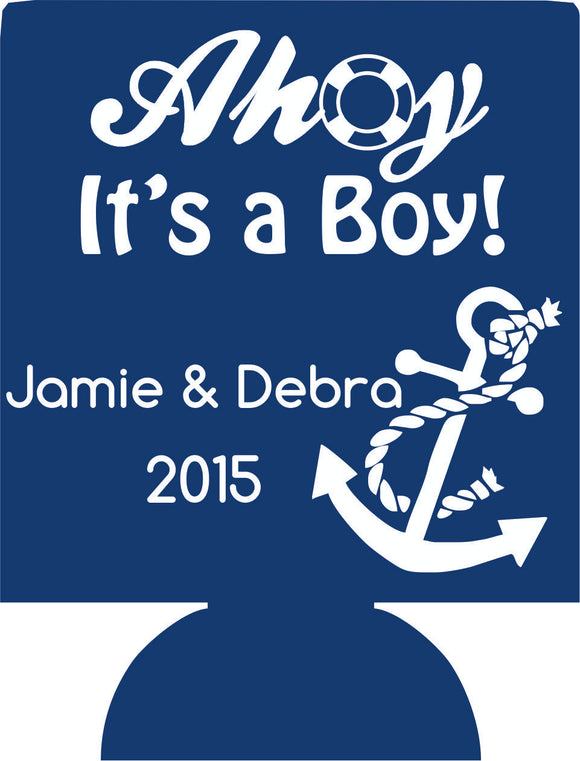 Nautical Baby Shower party favor ideas