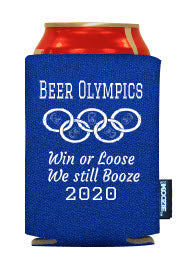 Beer Olympics Party favor ideas