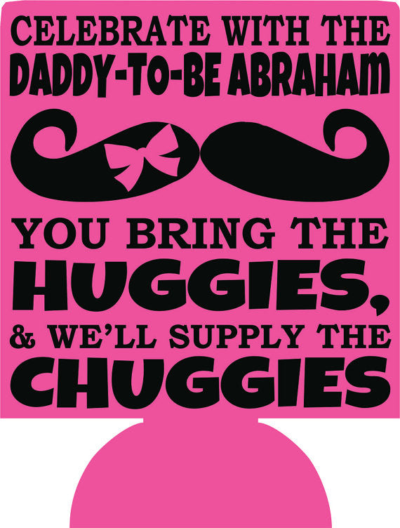 huggies and chuggies baby shower party favors