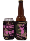 The Hunt is over Bachelorette Koozie Can Coolers personalized