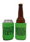 Bride tribe bachelorette party Koozie can coolers