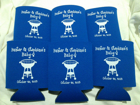 baby q koozies baby shower party favors