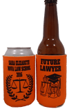 Law school Graduation koozies future lawyer can coolers