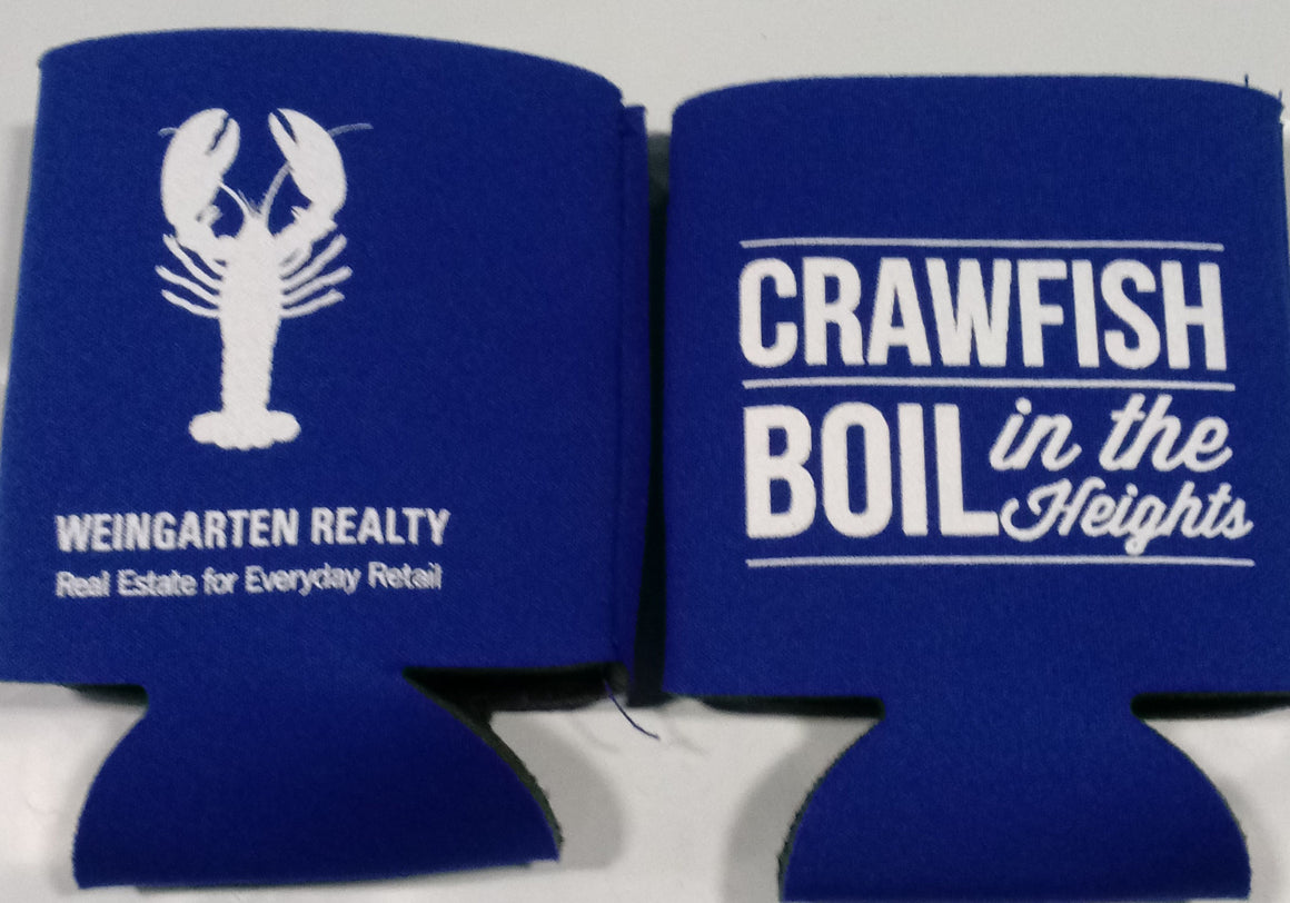 Company Crawfish boil can coolers personalized