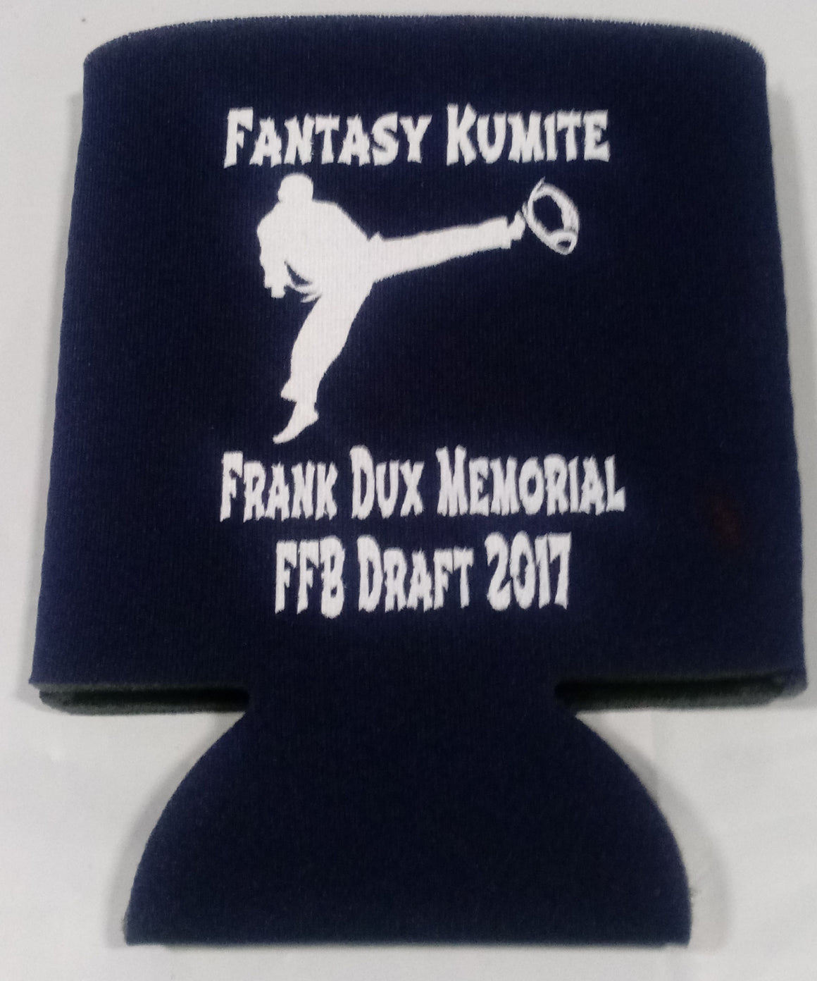 Fantasy Football Draft party koozies custom can coolers