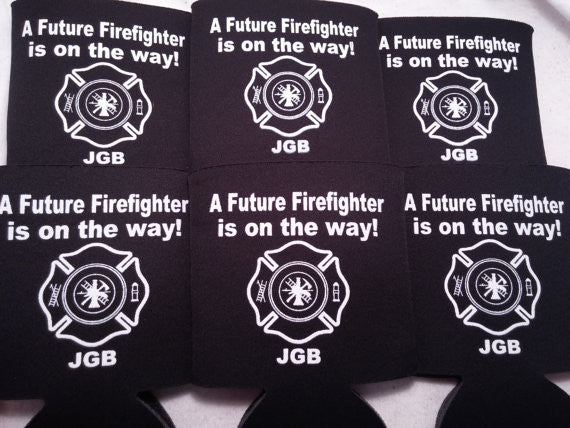 firefighter shower favors Can Coolers 163706800