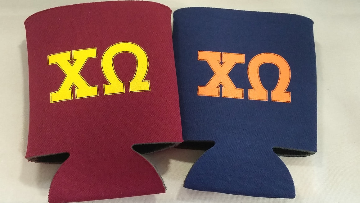 Fraternity / Sorority Custom party favors can coolers