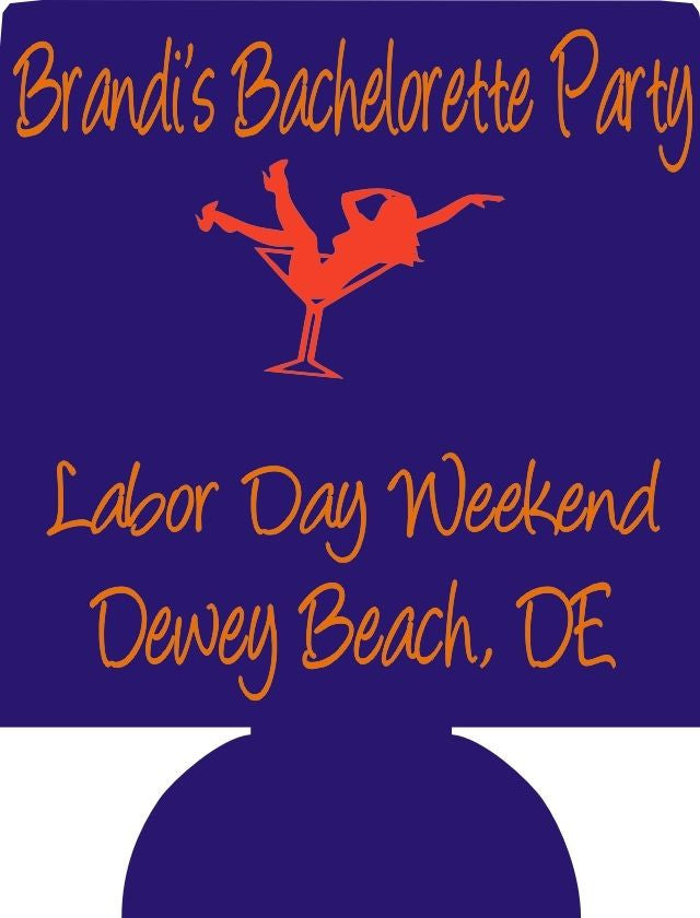 Labor Day Bachelorette Koozies