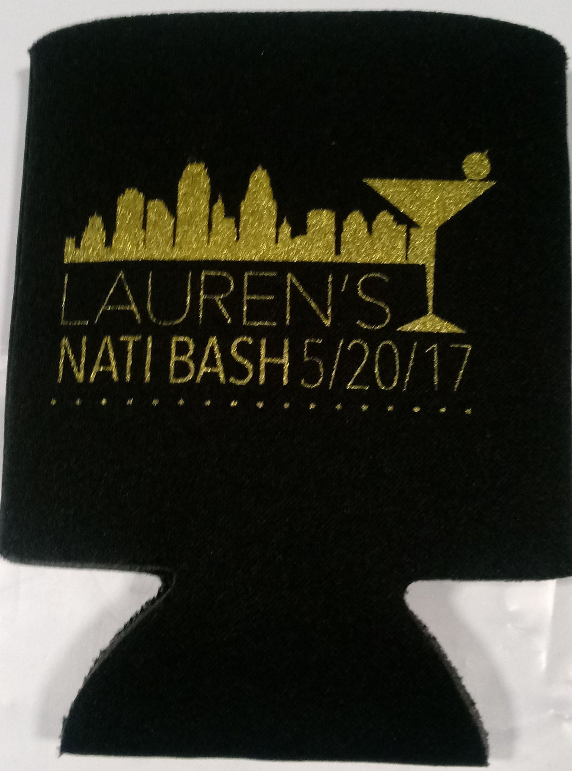 Nashville TN Bachelorette coozie Personalized low minimums