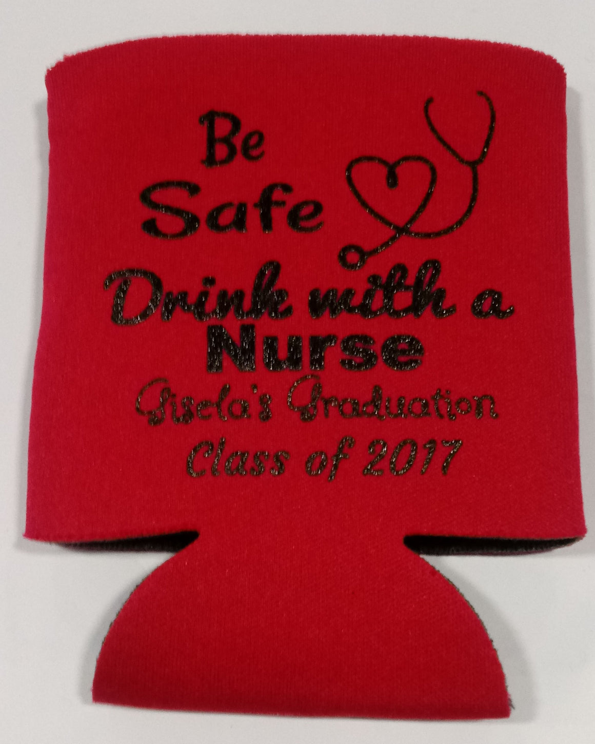 Nurse graduation koozie party favors