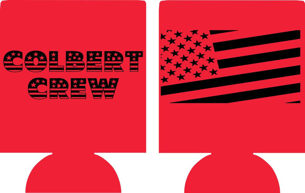 American flag Family reunion koozie can coolers