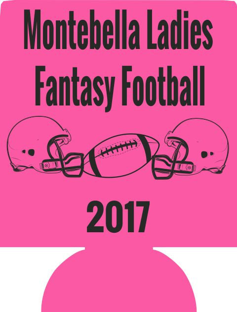 Fantasy Football Team koozie custom can coolers E07282017
