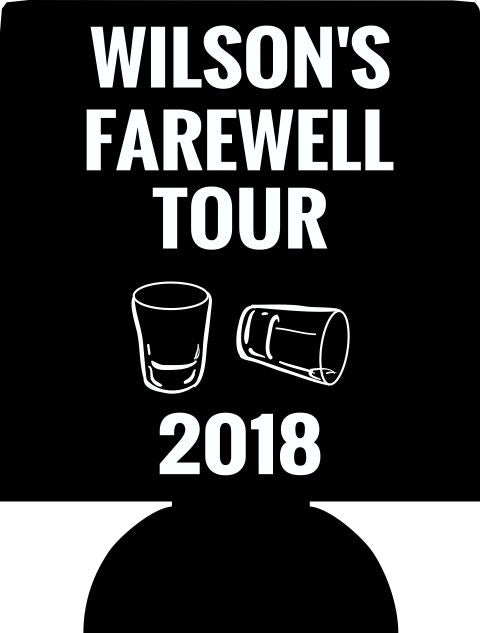Bachelor Party Koozies farewell tour custom Can Coolers E11302018