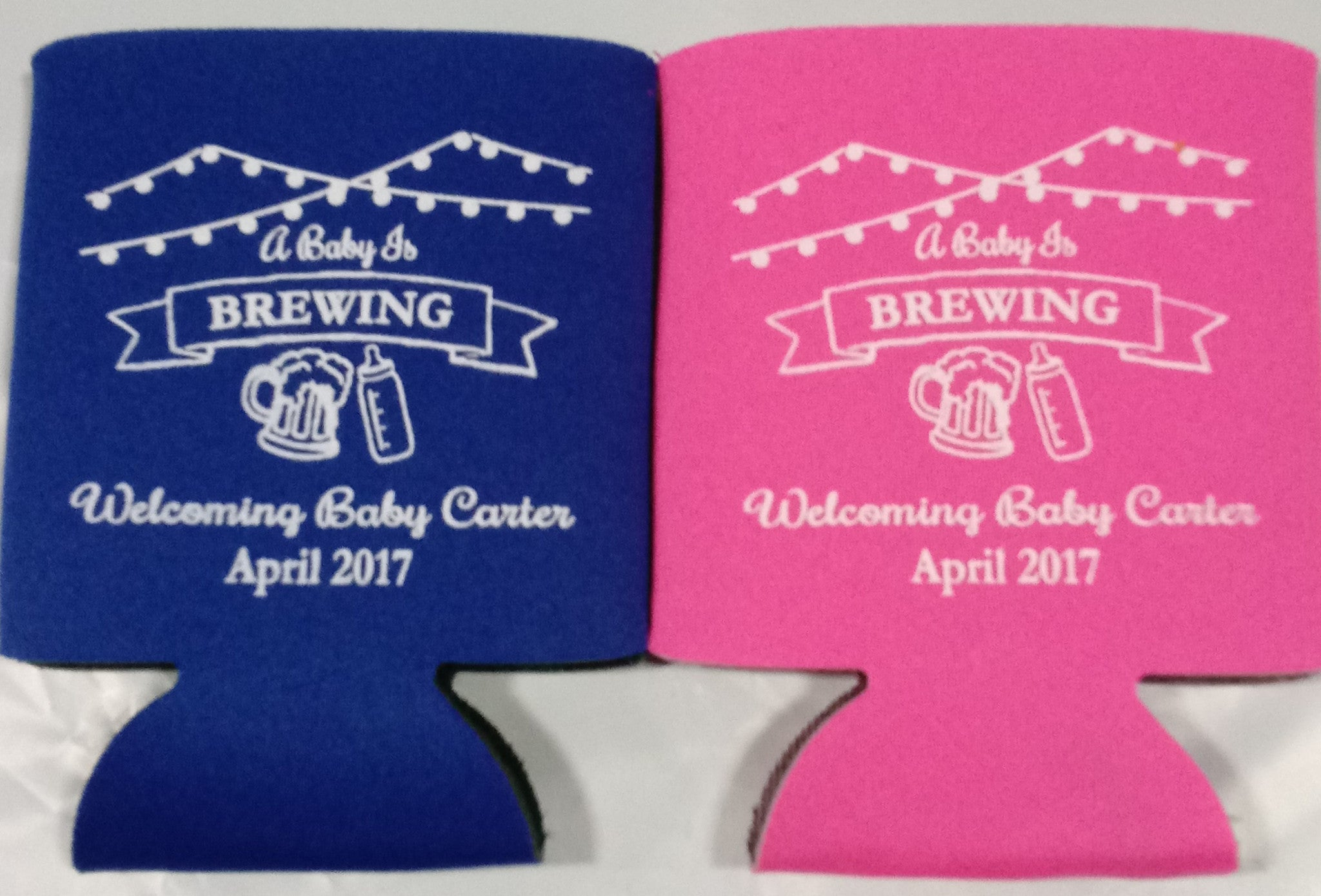 Baby Is Brewing Koozies Shower Can Coolers 1119589811