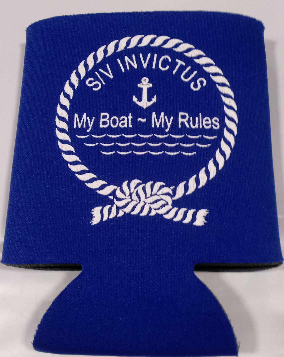 My boat my rules custom beer Can Coolers Favors