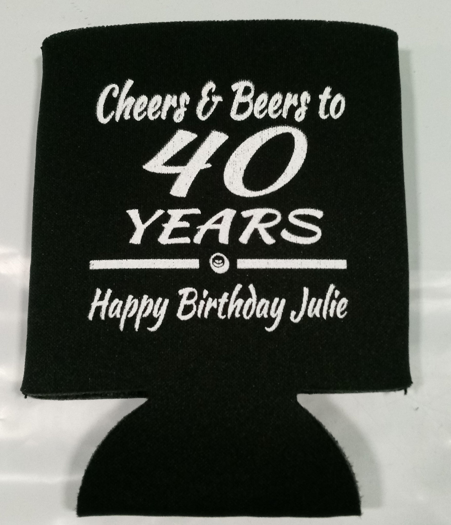 Cheers And Beers 40th Birthday Party Funny Favors Can