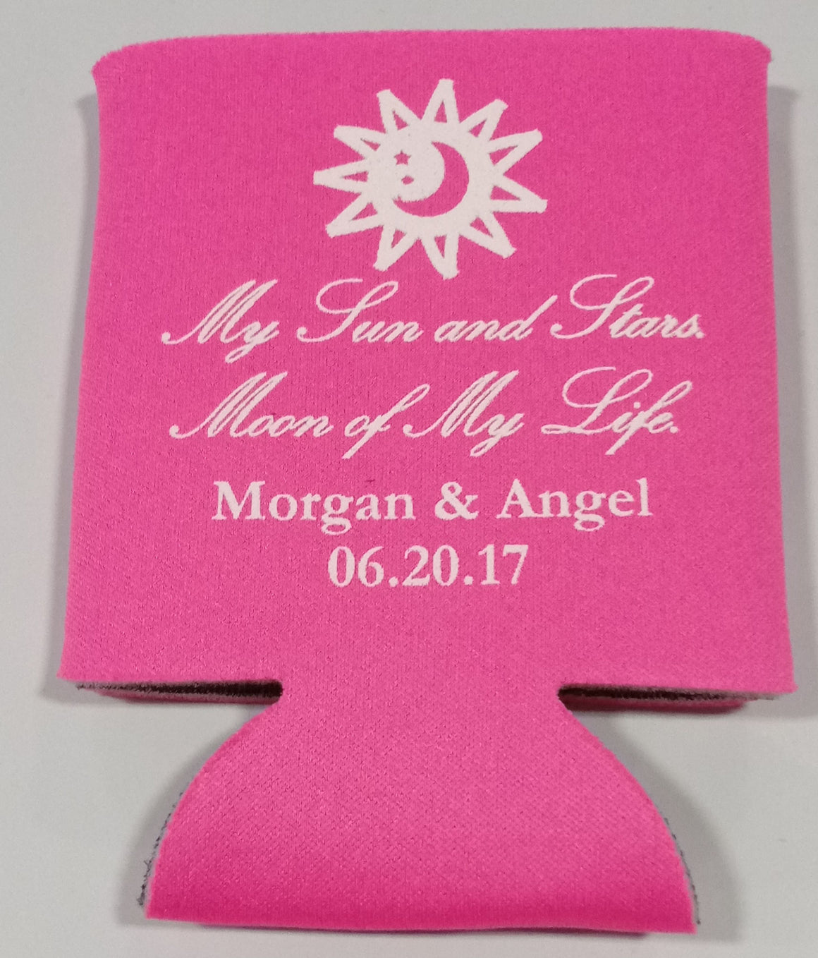 Game of thrones Wedding koozies moon of my life