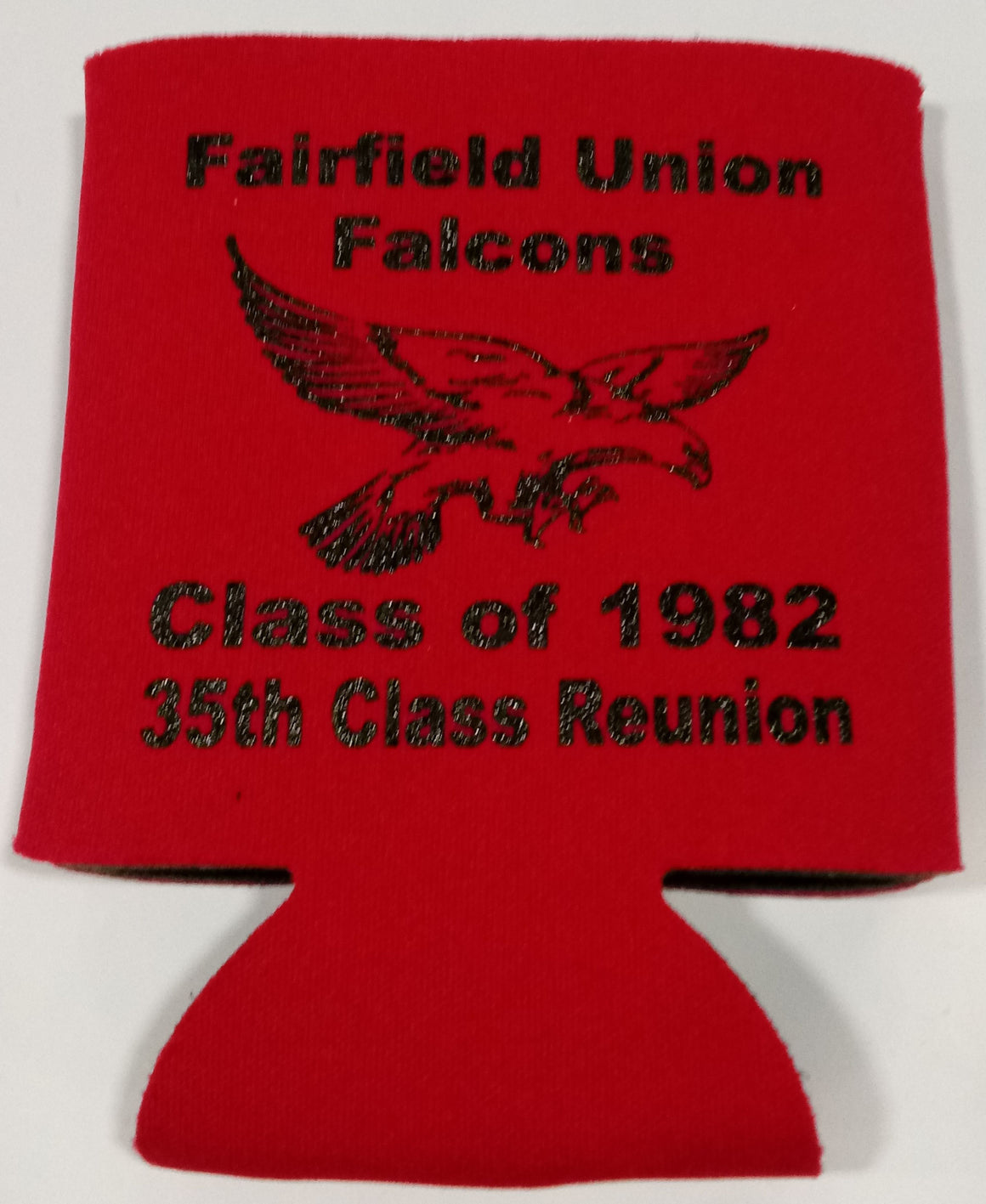 Falcon Class Reunion koozie party favors can coolers