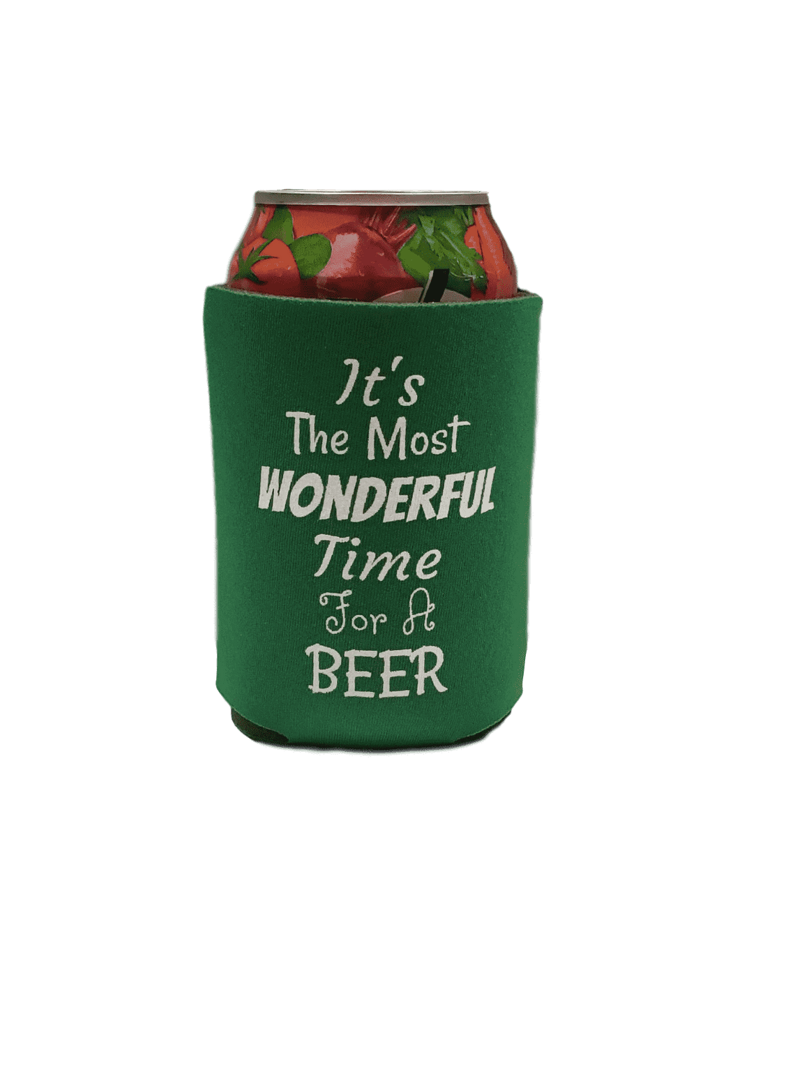 Wonderful time for a beer holiday  party favors can coolers